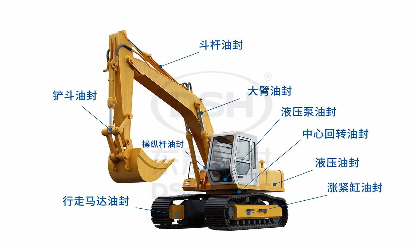 工程机械油封修理包